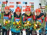 Украинские биатлонистки завоевали золото Олимпиады в Сочи!