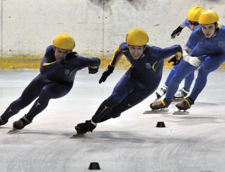 На «Салтовском льду» разыграли награды Кубка Украины по шорт-треку (все результаты)