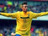 Неймар, которого Уткин сравнил с Кончитой Вюрст, забивает первый гол Бразилии (ВИДЕО)