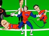 Крул-супермен: мульфильм и комиксы о герое матча Голландия-Коста-Рика