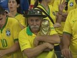 Немецкое порно, статуя Ангелы и визитка Яроша на форме немцев (интернет-креатив после матча Бразилия-Германия)