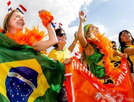 Голландия-бронзовый призер ЧМ-2014, а Бразилия проигрывает с треском