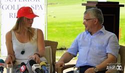 Пресс-конференция Элины Свитолиной в Superior Golf &Spa Resort