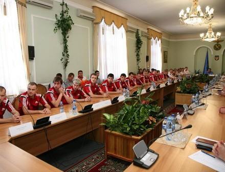 Футзал. Локомотив провел встречу с руководством ЮЖД