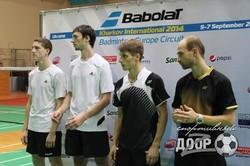 В Харькове прошел этап Кубка Европы по бадминтону. Яркие моменты