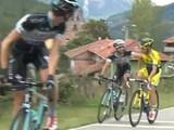 Российский и итальянский велогонщики подрались во время гонки