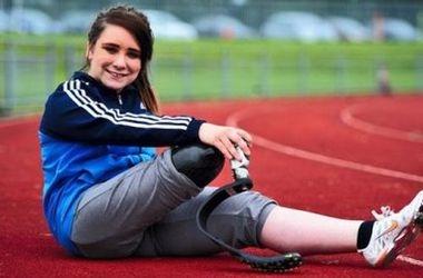Девушка готова ампутировать ногу ради участия в Паралимпиаде!