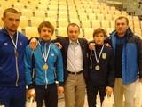 Украинские борцы взяли 4 медали на турнире в Финляндии