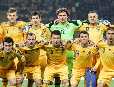 Сборная Украины теряет 7 позиций в рейтинге ФИФА