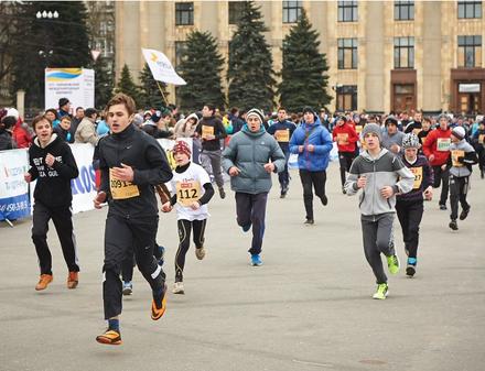 Студенты смогут бесплатно поучаствовать в Харьковском международном марафоне