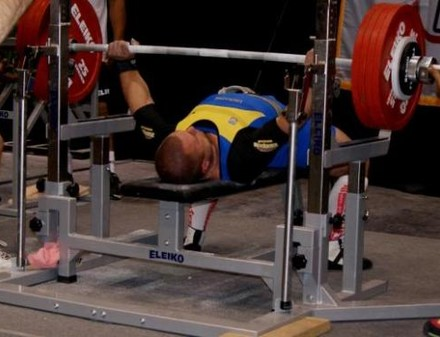 Харьковчанин установил мировой рекорд в пауэрлифтинге