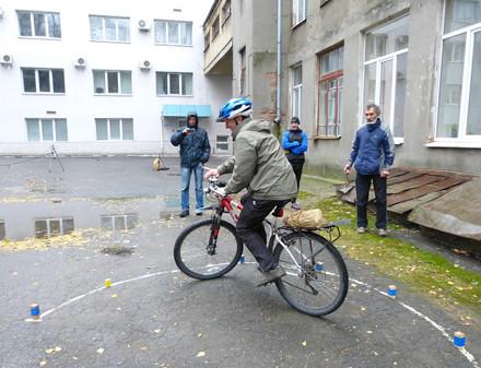 Харьковские велофигуристы собираются соревноваться в закрытых помещениях