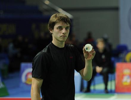 Харьковчанин стал бронзовым призером этапа Кубка Европы по бадминтону