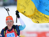 Биатлонистка Пидгрушная, убегая от польки, обогнала немку и принесла Украине «серебро»