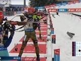 Украинцы заняли четвертое место в первой эстафете ЧМ по биатлону