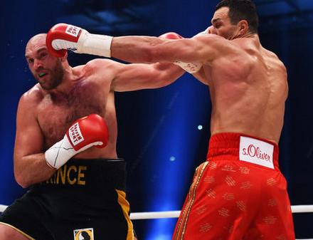 Тайсон Фьюри пожаловался на боли в спине и спарринг-партнера Владимира Кличко