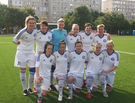 Харьковские футболистки оказались беспощадными к конкуренткам