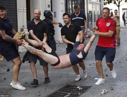 Евро-2016: то, чего не показали на фан-зоне Харькова (ФОТО)