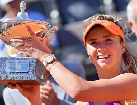 Элина Свитолина выиграла теннисный турнир в Риме