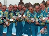 Харьковские синхронистки завоевали серебряную медаль на чемпионате мира
