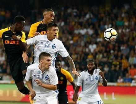 «Динамо» проиграло «Янг Бойз» и вылетело из Лиги чемпионов в Киев