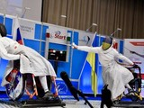 Евгения Бреус успешно выступила на Кубке мира по фехтованию на колясках