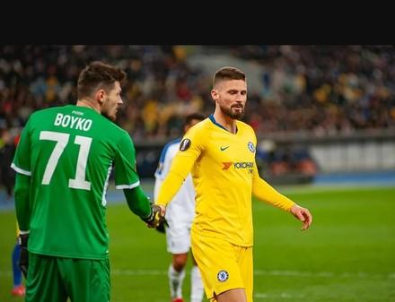 «Динамо» - «Челси»: 0:5