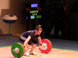 Харьковчанка Камила Конотоп установила три рекорда Украины