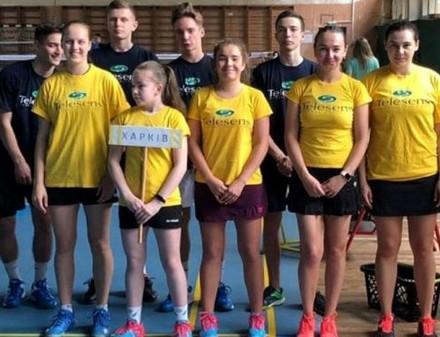 Харьковские бадминтонисты – серебряные призеры клубного чемпионата Украины