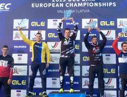 Велогонщик из Купянска получил «серебро» чемпионата Европы